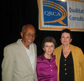 J.R. Harris, Judy Langer and Pat Sabena