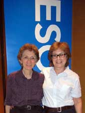 Judy Langer and Sharon Dimoldenberg