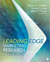 Leading Edge Marketing Research_ book cover